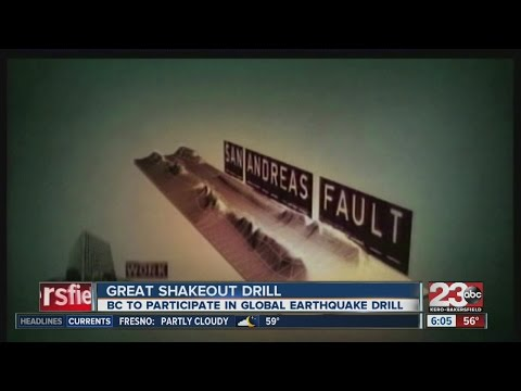 Bakersfield College prepares for massive earthquake during Great California ShakeOut drill