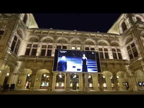 """Финал оперы """"Евгений Онегин"""" на сцене Венского оперного театра 22 апреля 2013 года"""