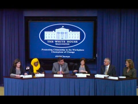 White House Strengthening the Economy through Citizenship Champions of Change