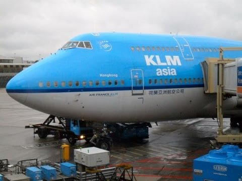 KLM Royal Dutch Airlines PH-BFH - Boeing 747-400 World ...