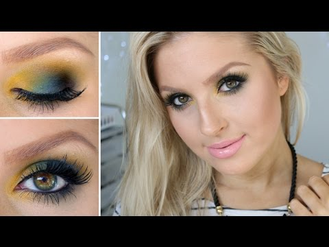 One Brand GRWM ♡ Sleek Cosmetics ♡ Green & Smokey!