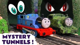 Thomas and Friends Mystery Tunnel Toy Stories learning colors with nursery rhymes and Tom Moss TT4U