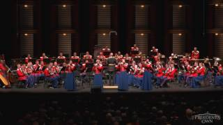 Sousa The Stars And Stripes Forever 34 The President 39 S Own 34 U S Marine Band Tour 2016