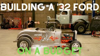 The budget hot rod - Building a '32 Ford on a budget (s1 ep13)