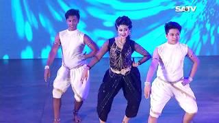 Eid Dance by Sinthiya, Shamim & Shafiq on SATV   Eid Dance Program