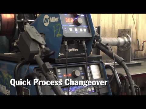 Welding with the PipeWorx Pipe Welding System at Swartfager Welding, Inc.