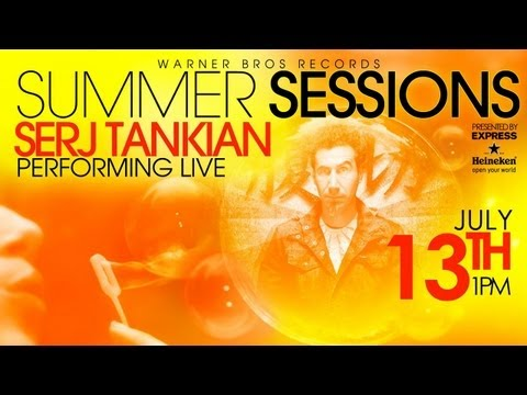 Serj Tankian at WBR's Summer Sessions Concert Series - Live Stream on Friday, July 13th at 1 pm PST