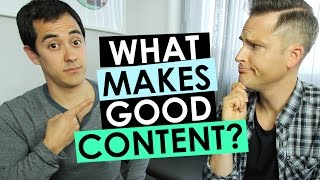 What Makes Good Content?   4 Tips for Making Great YouTube Content