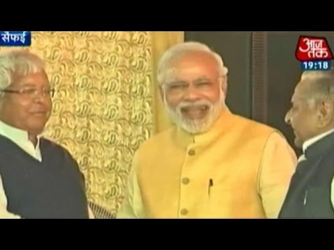 India 360: Modi, Lalu, Mulayam Come Together at Saifai
