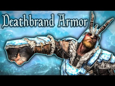 Skyrim SE - Deathbrand Set - Unique Armor Guide