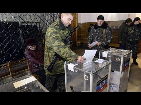 Russia Recognizes Rogue Ukrainian Elections