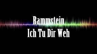 Watch Rammstein Ich Tu Dir Weh video
