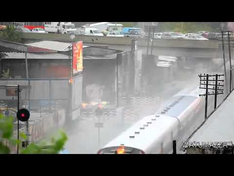 Tsunami by Train Wow!!!!