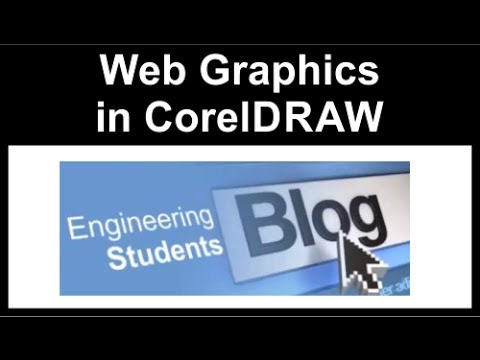 Creating Web Graphics using Coreldraw