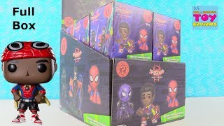 Spider-Man Into The Spiderverse Movie Funko Mystery Minis Figures Unboxing | PSToyReviews