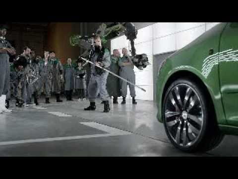 Skoda Fabia vRS Mean Green TV commercial