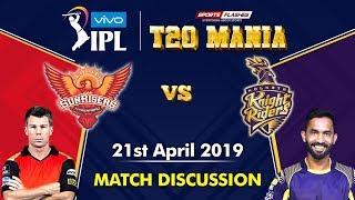 Live Hyderabad vs Kolkata T20   Live Scores and Analysis (English)   IPL 2019