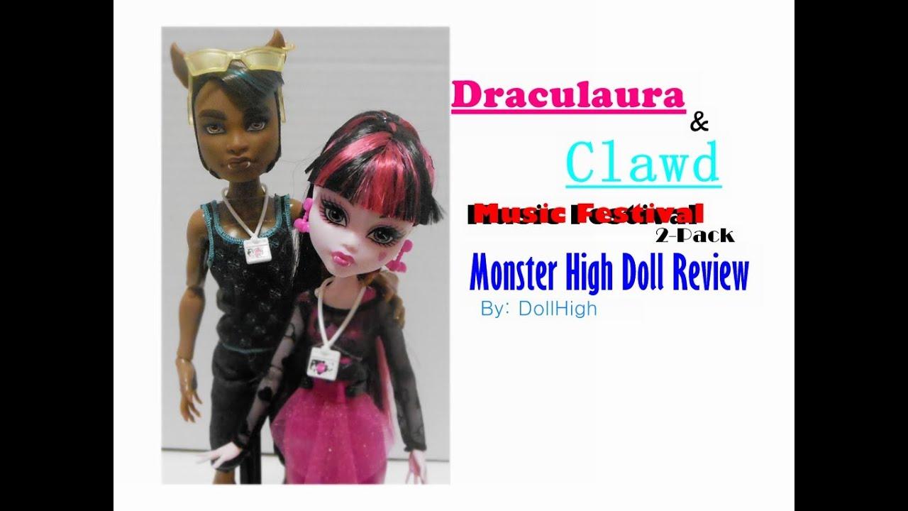 Draculaura y Clawd Music Festival Clawd Music Festival Kmart
