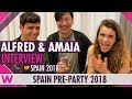 Download Alfred & Amaia (Spain 2018) Interview | Eurovision Spain PreParty 2018