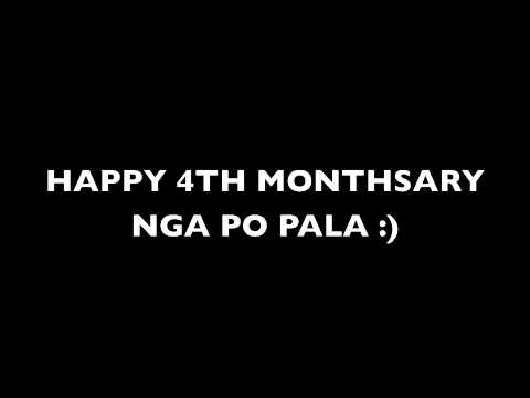 Happy 4th Monthsary Baby Happy 4th Monthsary