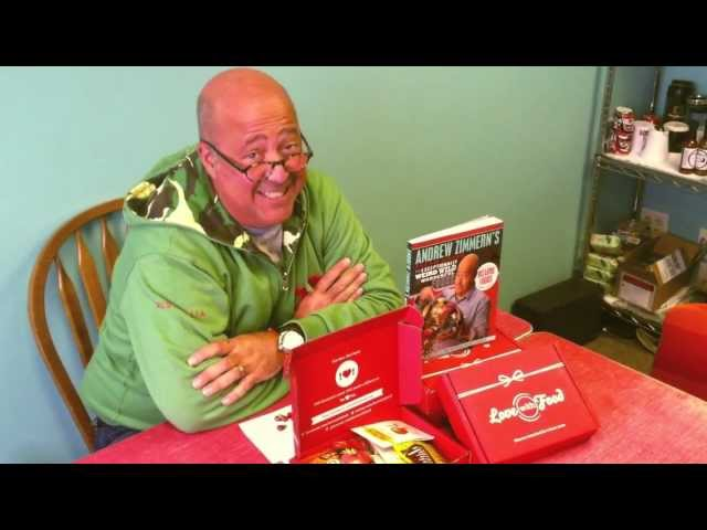 Andrew Zimmern Curates Love With Food April Box