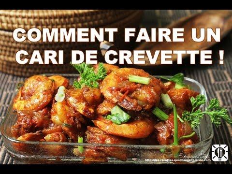 RECETTE : COMMENT FAIRE UN CARI DE CREVETTE !