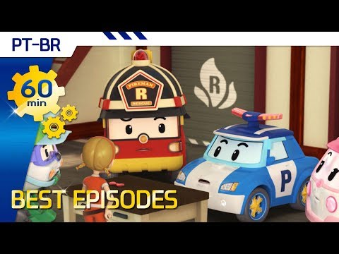 Robocar Poli | Best episode Brazilian Portuguese