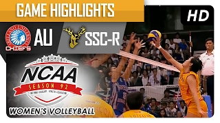 AU vs SSC-R | Championship Game Highlights | NCAA 92 WV | February 14, 2017