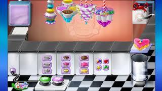Game Tập Làm Bánh Kem Nhiều  Màu Sắc Cho Bé