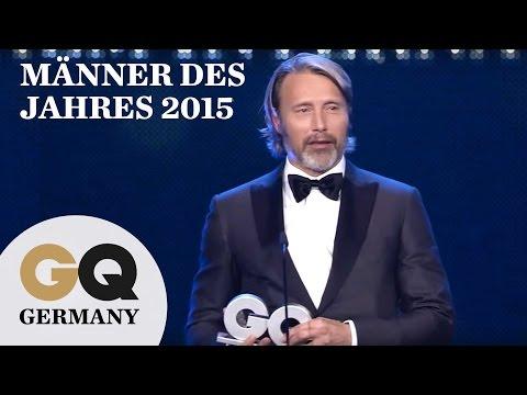 GQ Männer des Jahres 2015: Mads Mikkelsen ist bester internationaler Schauspieler