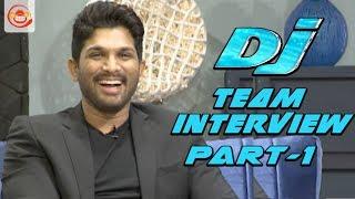 Duvvada Jagannadham Movie Team Interview Part 1 || Allu Arjun, Pooja Hegde, Harish Shankar