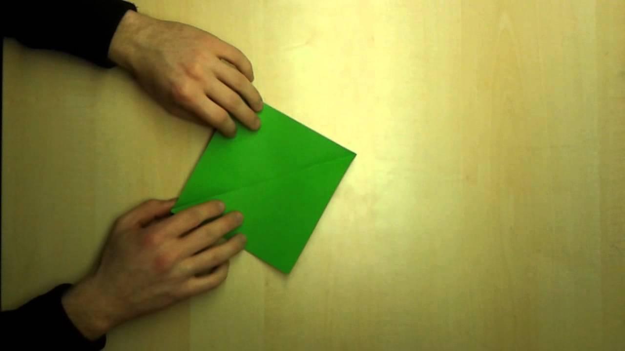 briefumschlag falten kuvert basteln youtube. Black Bedroom Furniture Sets. Home Design Ideas