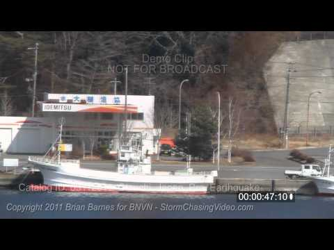 3/11/2011 Stock Footage, Otsuchi Japan, harbor just prior to 9.0 earthquake