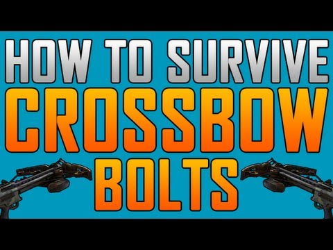 Black Ops 2 Glitches: Invincible from Crossbow Bolts!