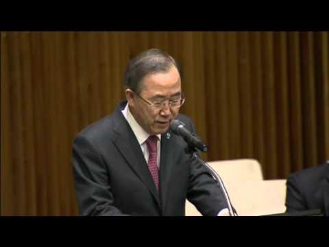 U.N. Chief Ban Ki-moon Praises
