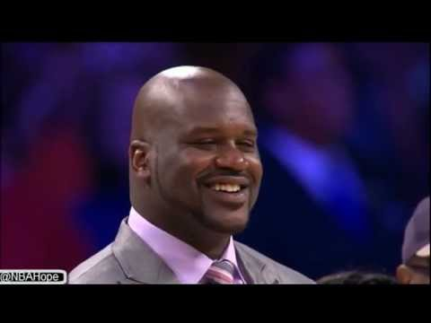 Shaquille O'neal Jersey Retirement Ceremony Full