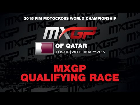 MXGP of Qatar 2015  MXGP Qualifying Race - motocross