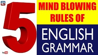 5 MIND BLOWING RULES | ENGLISH GRAMMAR | ALL COMPETITIVE EXAMS