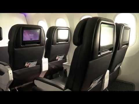 Air New Zealand Boeing 787-9 Dreamliner Premium Economy Class