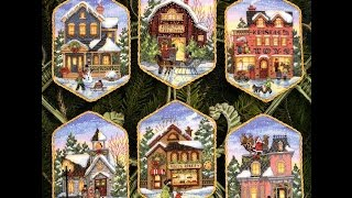 "СП ""Зимнее настроение"" Dimensions Christmas Village Ornaments. Отчет за 8-9 недели"