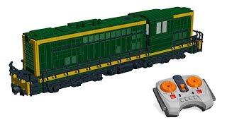 LEGO Train - Diesel locomotives de fret - Diesel freight locomotives - MOC v5.0