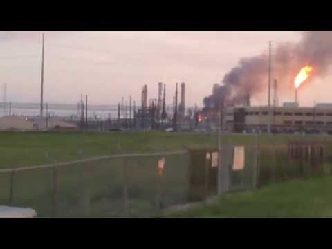 Video of Chevron fire July 7th 2014