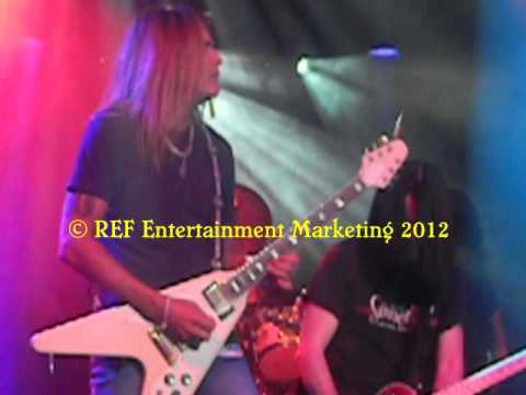 CARLOS CAVAZO does RATT Round&Round Part 3 Las Vegas Copyright REF Entertainment Marketing 2012
