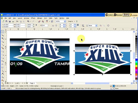 Vectorizing a low res logo in CorelDraw