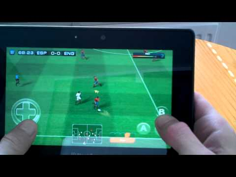 BlackBerry PlayBook Real Football 2011 HD