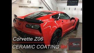 Chevrolet Corvette Z06 - RS Ceramic Coating & Professional Car Detailing Treatment