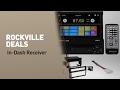 Rockville In-Dash Receiver Deals