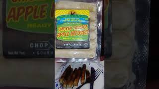 Review On Chicken Apple Sausage From Dollar Tree
