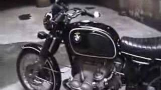 Classic 1976 BMW R90/6 motorcycle