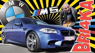 BMW M5 F10 |Test and Review| Bri4ka.com